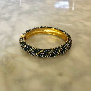 Lilly Pulitzer Navy and Gold Bangle